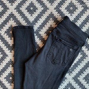 Rag & Bone skinny black jeans • size 27